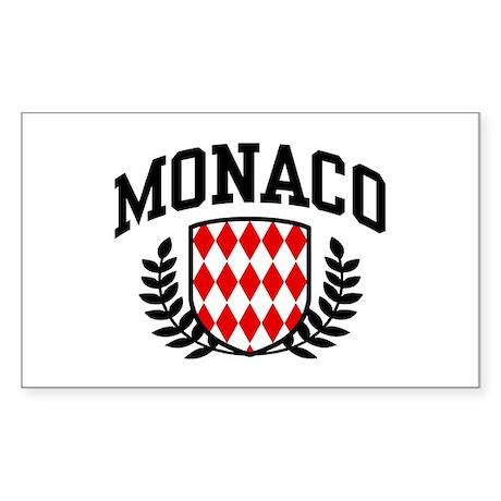 Monaco Sticker (Rectangle)