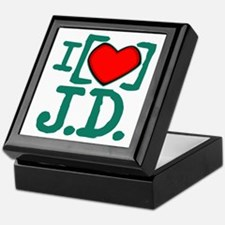 I Heart J.D. Keepsake Box