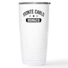 Monte Carlo Monaco Travel Mug