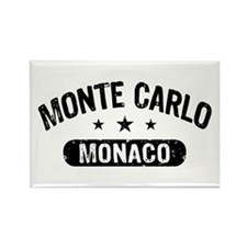 Monte Carlo Monaco Rectangle Magnet