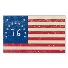 Bennington Flag Decal