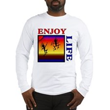 enjoy life Long Sleeve T-Shirt