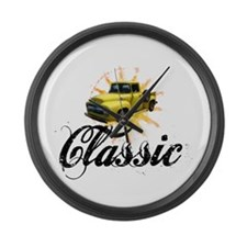 Yellow Ford Classic Large Wall Clock