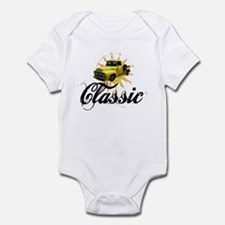 Yellow Ford Classic Infant Bodysuit