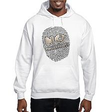 No Finger Prints - T-Shirt Hoodie