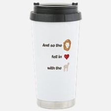 And so the lion fell in love Travel Mug