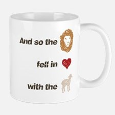 And so the lion fell in love Mug