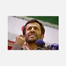 Ahmadinejad Rectangle Magnet