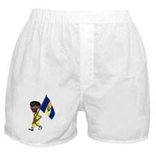 3D Barbados Boxer Shorts