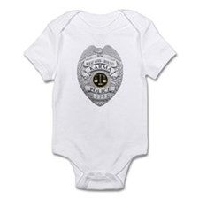 Cute Karma police Infant Bodysuit