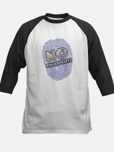 No Finger Prints -T-Shirt Kids Baseball Jersey