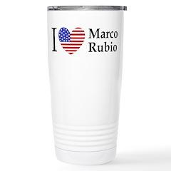 I Love Marco Rubio Travel Mug