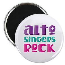 Alto Singers Rock Magnet