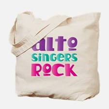 Alto Singers Rock Tote Bag