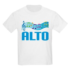 Colorful Music Alto T-Shirt