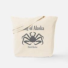 King of Alaska- Tote Bag
