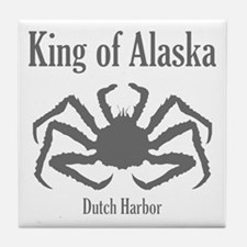 King of Alaska- Tile Coaster