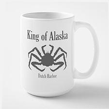 King of Alaska- Large Mug