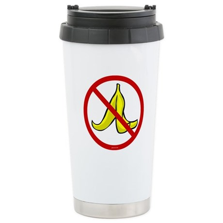 No Banana Peels - Stainless Steel Travel Mug