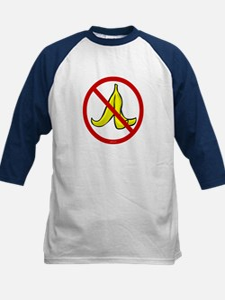 No Banana Peels - Kids Baseball Jersey