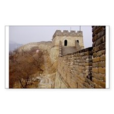 Great Wall Panorama Rectangle Decal