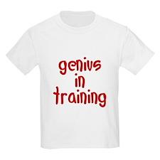 genius in training T-Shirt