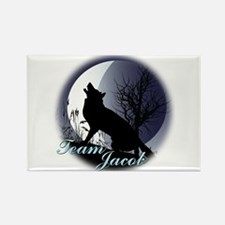 Team Jacob (at Night) Rectangle Magnet