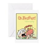 Hungry Bud Greeting Cards (Pk of 10)