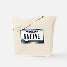 Montana License Plate - [NATIVE] Tote Bag