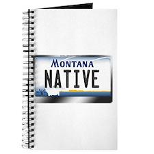 Montana License Plate - [NATIVE] Journal