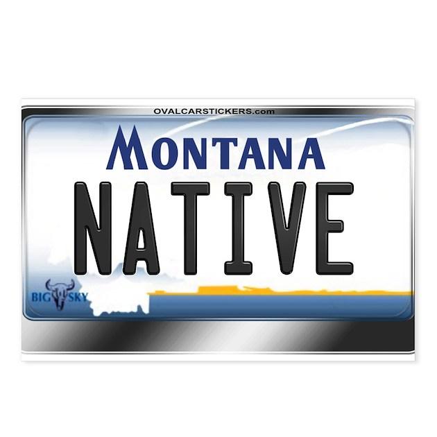 Montana Native Plants: [NATIVE] Postcards (Packag By