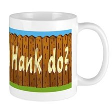 What Would Hank Do? Small Mug