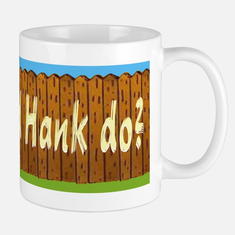 What Would Hank Do? Small Small Mug