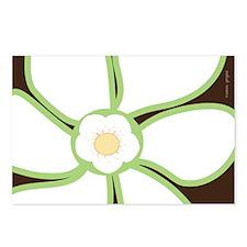 Bold Design Graphic Flower Postcards (8pk.)