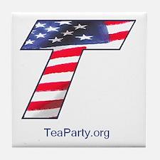Tea Party Tile Coaster
