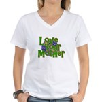 Love Your Mother (Earth) Women's V-Neck T-Shirt