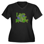 Love Your Mother (Earth) Women's Plus Size V-Neck