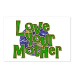 Love Your Mother (Earth) Postcards (Package of 8)