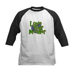 Love Your Mother (Earth) Kids Baseball Jersey