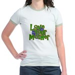 Love Your Mother (Earth) Jr. Ringer T-Shirt