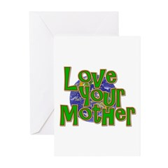 Love Your Mother (Earth) Greeting Cards (Pk of 20)