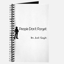 People Dont Forget Journal
