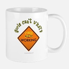 Women Working Sign Mug