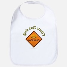 Women Working Sign Bib