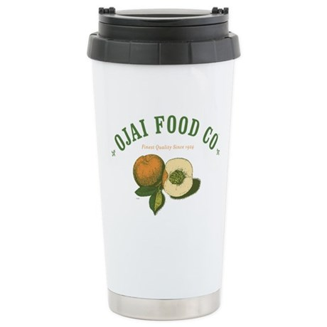 Ojai Food Co Stainless Steel Travel Mug