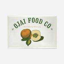 Ojai Food Co Rectangle Magnet
