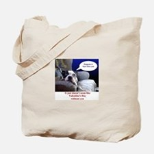VALENTINES DAY (MISS YOU LOOK) Tote Bag