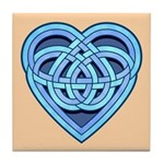 Adanvdo Heartknot Tile Coaster