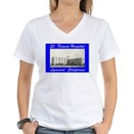 Saint Francis Hospital Women's V-Neck T-Shirt