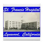 Saint Francis Hospital Tile Coaster